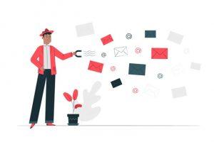 email capture concept illustration 114360 746