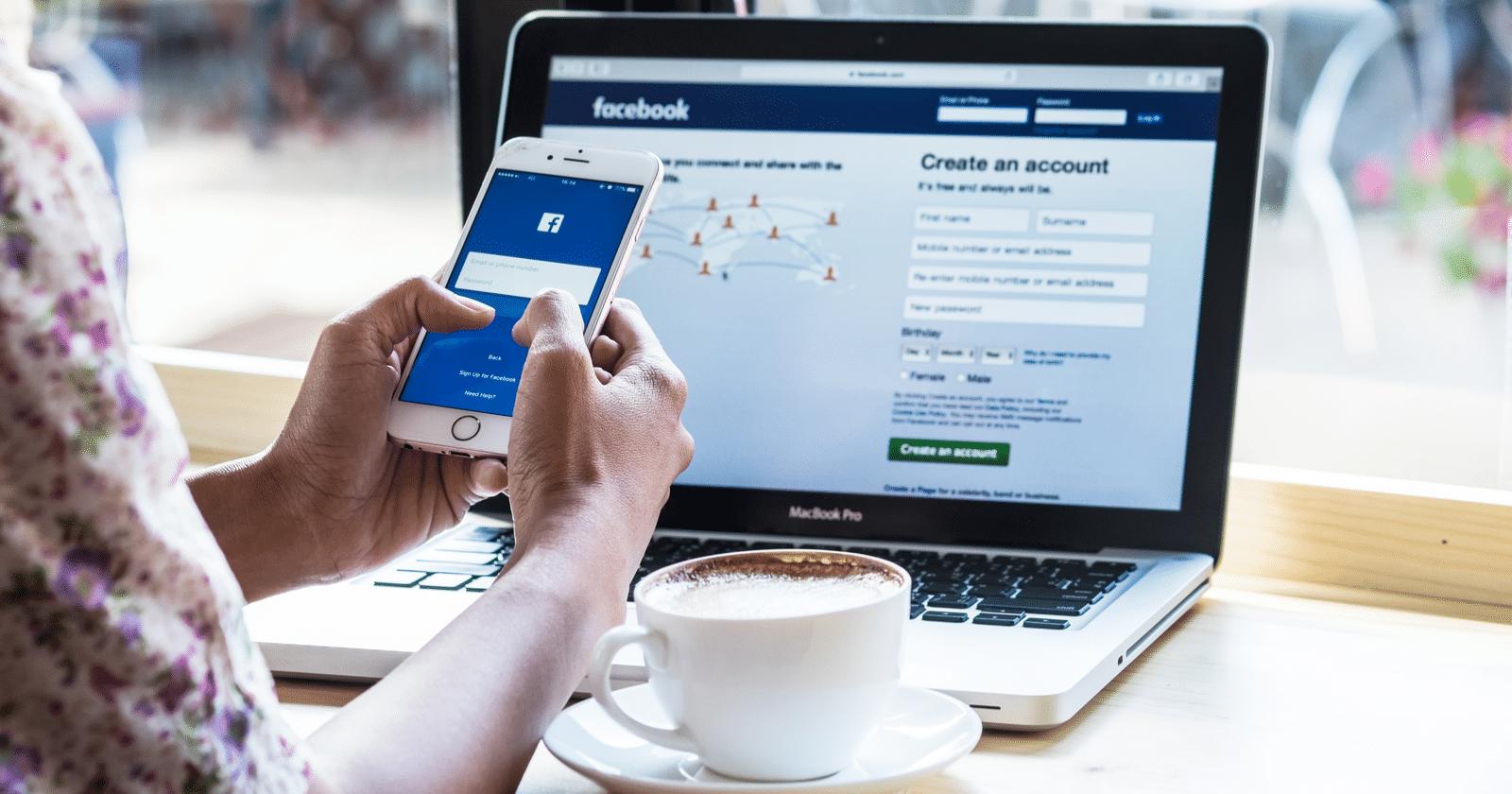 البيع على الفيس بوك